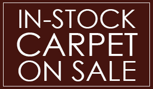 In-stock carpet on sale starting at $0.95 sq.ft.