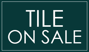 Tile on sale starting at $1.65 sq.ft.