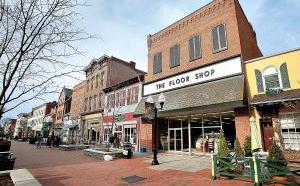 The Floor Shop on the Loudoun Street Mall