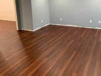 COREtec Luxury Vinyl Flooring Biscayne Oak Flooring Project completed by The Floor Shop Winchester in Virginia