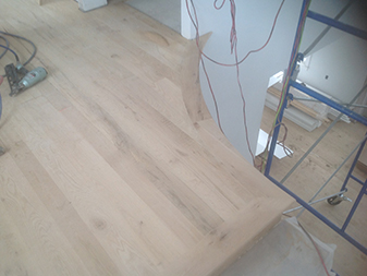 Hardwood flooring project by The Floor Shop Winchester in Winchester, Virginia